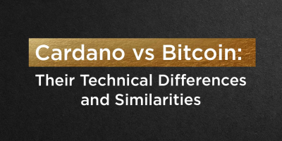 Cardano vs Bitcoin: Their Technical differences and Similarities