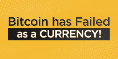 How Bitcoin failed as a CURRENCY