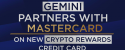 Gemini Partners With Mastercard on New Crypto Rewards Credit Card