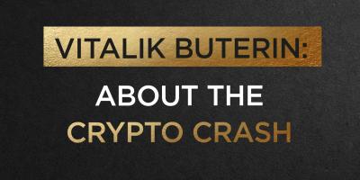 Vitalik Buterin: About The Crypto Crash
