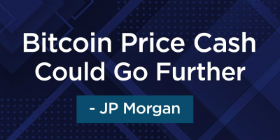 Bitcoin Price Cash Could Go Further - JP Morgan