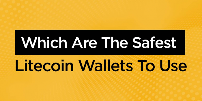 The Safest Litecoin Wallets to Use