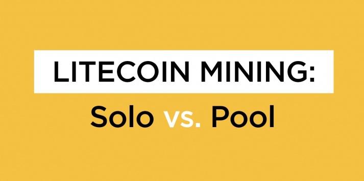 Litecoin Mining: Solo vs. Pool